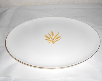 Platter Golden Wheat Serving platter Tray Large