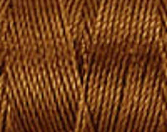 Chestnut Tex 210 C Lon Beading Cord, Indian Summer Supplies, Kumihimo Cord, Macrame Cord, 92 yards