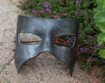 Masquerade Split Leather Mask