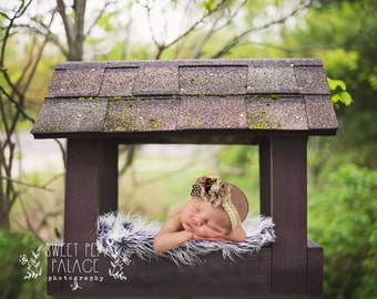 Instant Download Photography Prop Cabin in the Woods DIGITAL BACKDROP for Photographers