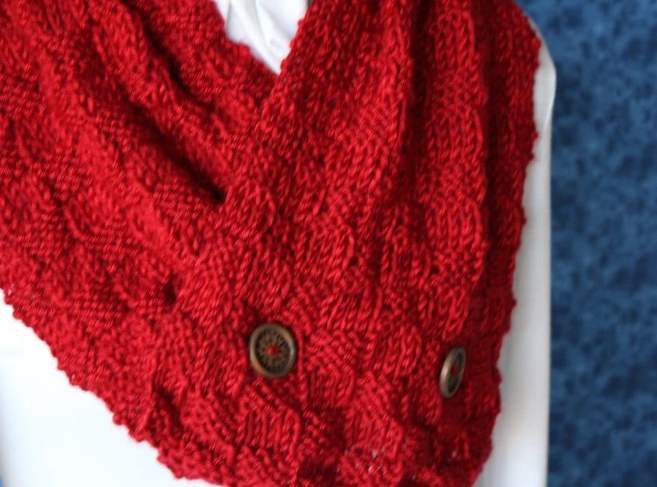 Knitting Pattern Tartan Scarf : Knitting Pattern Plaid Knit Scarf Pattern by KimberleesKorner