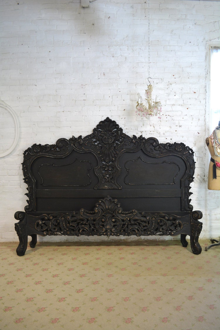 Painted Cottage Shabby Chic French Bed Queen By