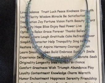 Rainbow 100 Wishes Necklace