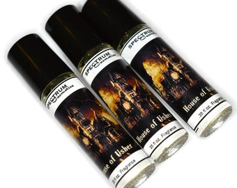 HOUSE OF USHER Limited Edition Halloween Fall Fragrance