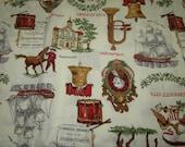 Vintage Americana Fabric 1 yard