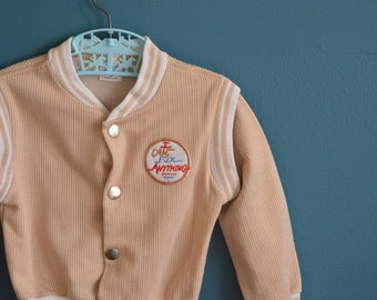 """Vintage Toddler's """"I Can Fix Anything"""" Jacket - Size 2T 3T"""