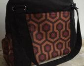 CUSTOM Diaper Bag The Upsized Expedient Weekender or Diaper Bag-Custom- Premium Fabric