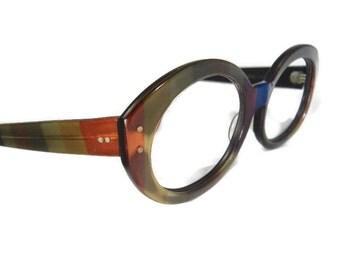 Vintage RayBan Bewitching Big Lens Eyeglasses Eyewear Frames