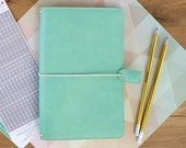 Mint Travelers Webster's Pages Color Crush Travelers Planner (IN STOCK) Free Washi Tape with this order