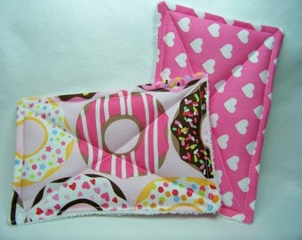 Nodda Sponge in Doughnut Love in Pink - Sponge Set - Dish Cloth - Cleaning Cloth - Eco Friendly - Ready To Ship