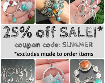 25% off SALE - use coupon code at checkout!