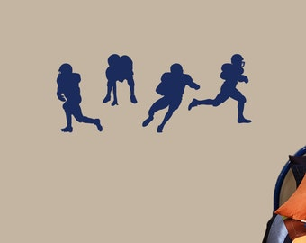 Football Players - Sports Wall Decals