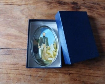 The Prisoner (1960's TV series) collectible glass paperweight