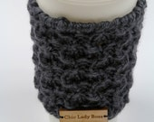 Knitted Mug Cozy, Cup Cozy, Coffee Cup Sleeve, Tea Cozy, Coffee Cozy, Knit Coffee Cozy, Reusable Cup Cozy