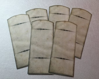 The Blank Apothecary  Labels Set of 6