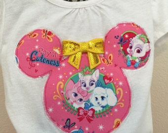 Disney's Palace Pets twirly skirt & shirt set, perfect for Disney, Disney Cruise, photos, parties