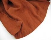 Handmade Linen Throw / Blanket / Canvas Weight