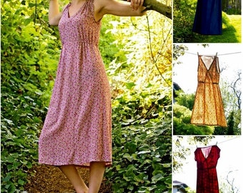 Pullover Dress Pattern, Midi Dress Pattern, Casual Dress Pattern, Simplicity sewing pattern 8231