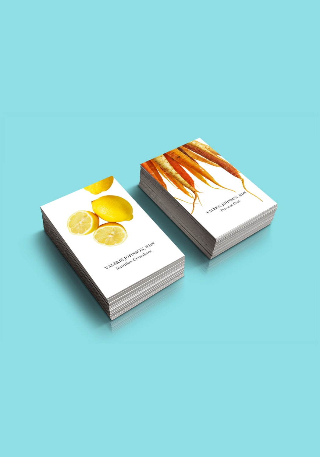 Food Nutrition Business Card Personalized for you Two