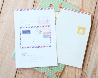 Letter to Me Everything You Want writing paper & envelopes set