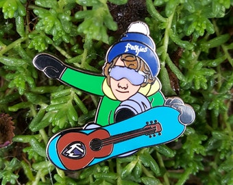 "Keller Williams ""Freshies"" Hat Pin"