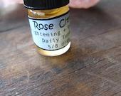 Rose Citrus Facial Toner - Dry Dull Skin - Brightening Renewing - Rose Hip Seed Oil,Lemon Peel,Strawberries - Natural Skin - 5/8 dram