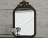 Vintage Mirror - decorative mirror - feng shui - antique mirror
