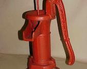 SALE Rustic Old Antique Farmhouse Cast Iron Water Pump