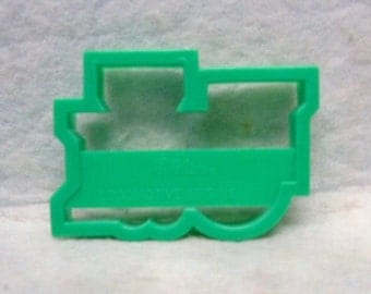 Get On Track With This 1992 Wilton Hard Plastic Silhouette Locomotive Engine Cookie Cutter ~ Kitchen Tested Condition Train Engine Cut Out