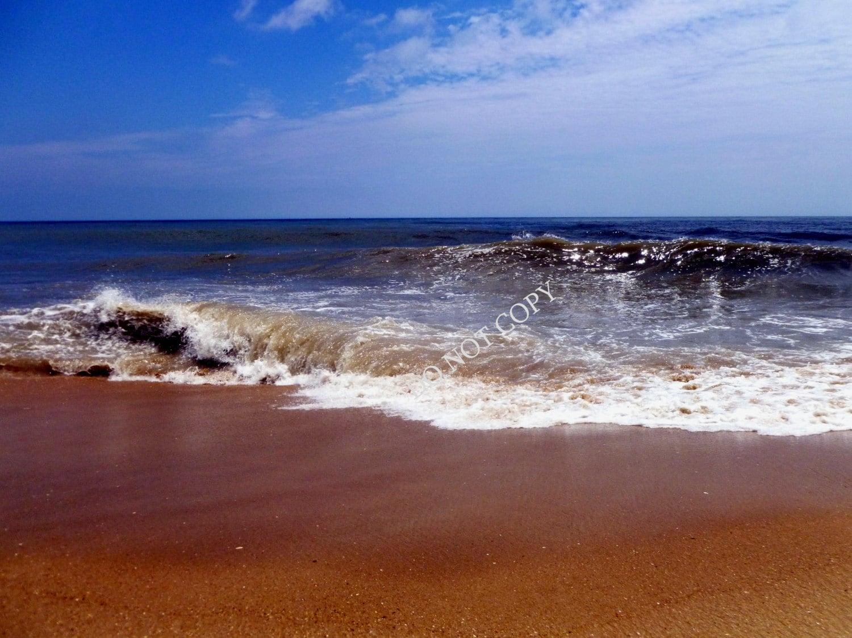 Ocean waves photograph create your own beach house photo for Build your own beach house