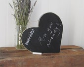 Heart Wall Decor, Chalkboard, Heart Chalkboard, Home Decor, Wall Decor, Valentine's Day Gift, Woodwork, Wood Signs, Primitive Signs