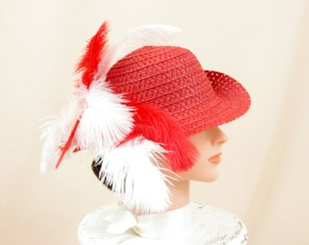 Child's Hat * Red Hat * Kentucky Derby Hat * Red and White * Church Hat * Formal Hat * Straw Hat * Floppy Hat * Ascot Hat * Fashion Hat