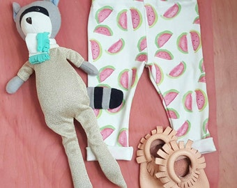 Organic Cotton Baby Pants//Flamingo Baby pants// Lobster Baby Pants// Watermelon Baby Pants// VW Bus Baby Pants// Baby Boy pants// Baby Girl