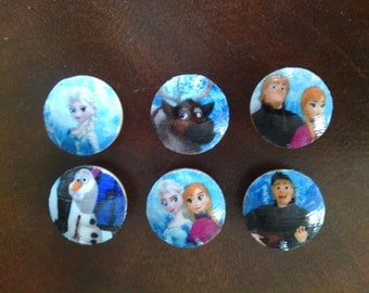 Frozen Elsa Anna Olaf Kristoff  Disney Light Switch Plates Outlet Covers or Knobs