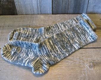 Thick Cotton/Lycra Hand Cranked Diabetic Socks Women's 7-11 shoe size