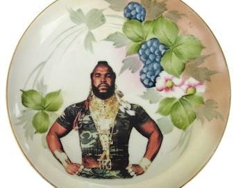 """Sergeant Bosco Portrait - Altered Antique Plate 9"""""""