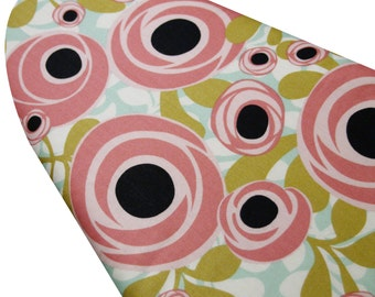 Ironing Board Cover custom sizes including brabantia, more ELASTIC around edges Hello Gorgeous white floral pick your size