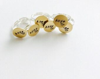 Hope ring-Deliver Hope
