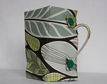 French Press Coffee Tea Pot Cozy Cover,Coffee Cozy, Tea Pot Linen warmer