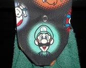 Hanging Kitchen Towels - Mario Brothers - Luigi