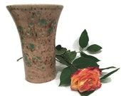 Centerpiece Vase in Earth Tone of Brown and Green