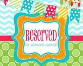 Reserved for Taylor