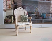 Hand embroided cushion for your dollshouse 1:12