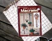 Macrame Pattern Book - Hanging Planters - Rope Pot Hangers