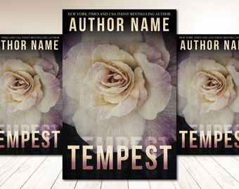 """Premade Digital Book eBook Cover Design """"Tempest"""" Fiction Young New Adult YA Contemporary Romance Literary Fiction"""
