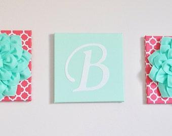 Decorative Wall Letters decorative wall letters | etsy