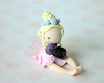 Fairy Figurine with Gem stone