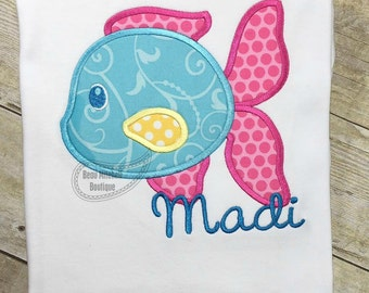 Fishy Fish applique
