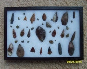 Arrowhead Collection, Arrowheads Collected Between 1925-1935 Columbia River
