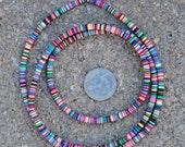 Vinyl Discs: Multi-colored 4x1mm